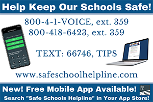 Report Bullying & Safety Concerns Anonymously with Safe School Helpline
