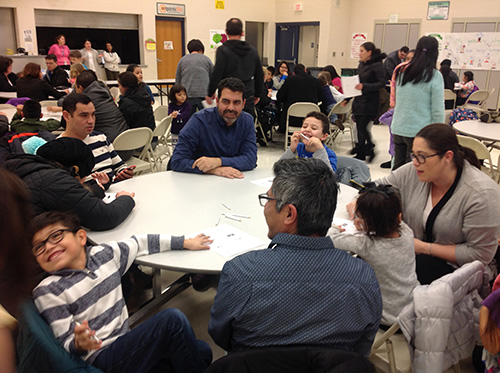 CCSD93 Dual Language Parent Activity Night Photo 1