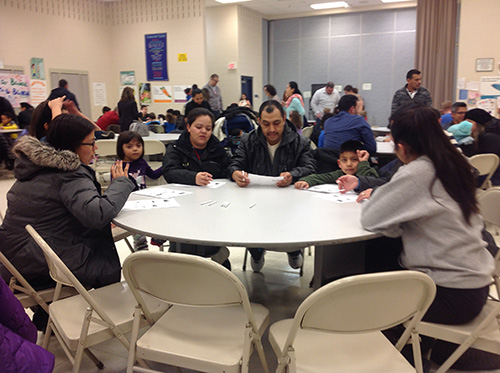 CCSD93 Dual Language Parent Activity Night Photo 2