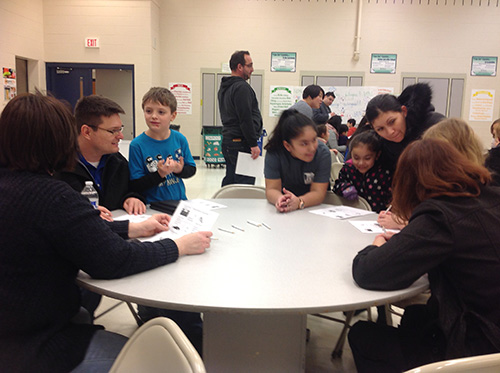 CCSD93 Dual Language Parent Activity Night Photo 3